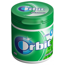 KOŠĻ. G. ORBIT BOTTLE SPEARMINT 60GAB.