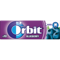 KOŠĻĀJAMĀ GUMIJA ORBIT BLUEBERRY 14G