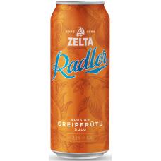 ALUS KOKT..ZELTA RADLER GRAPEFRUIT 2.0% 0.5L