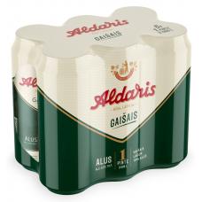 ALUS ALDARIS GAIŠAIS 5% 0.568L 6PAKA CAN