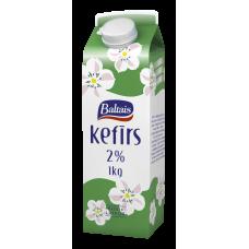 KEFĪRS BALTAIS 2% 1KG KARTONĀ
