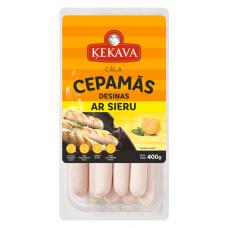 CEPAMDESAS ĶEKAVA AR SIERU 400G
