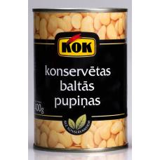 PUPAS BALTĀS KONS. KOK 400G