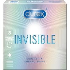 PREZERVATĪVI DUREX INVISIBLE EXTRA SENSATIVE N3