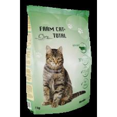 BARĪBA SAUSĀ KAĶIEM FARM CAT  AR GAĻU 1KG