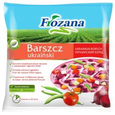 DĀRZEŅI FROZANA UKRAIŅU BORŠCS SALD. 400G