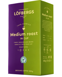 KAFIJA MALTA LOFBERGS MEDIUM ROAST IN-CUP RA 500G