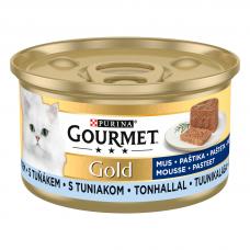 BARĪBA KAĶIEM KONSERV.GOURMET GOLD PASTĒTE TUNCIS-MAKR.85G