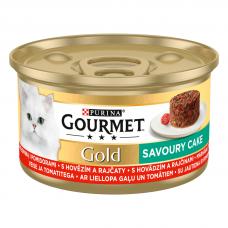 BAR.KAĶ.KONSERV.GOURMET GOLD SAVOURY CAKE LIELL.TOMĀTI 85G