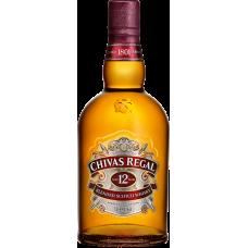 VISKIJS CHIVAS REGAL 12 Y.O. 40% 0.7L  KASTĒ