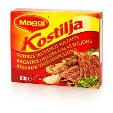 BULJONS MAGGI KOSTILJA  LIELLOPA 60G